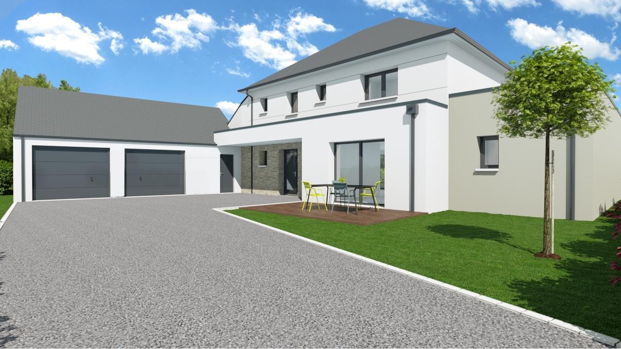 Construction Projet Tendance Et Moderne Projet Sur Mesure Comeca Les Maisons